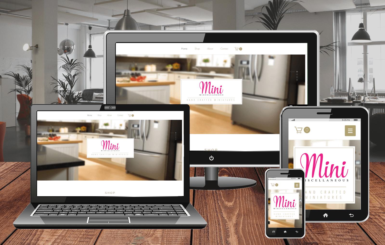 Website Design Portfolio Mini Miscellaneous