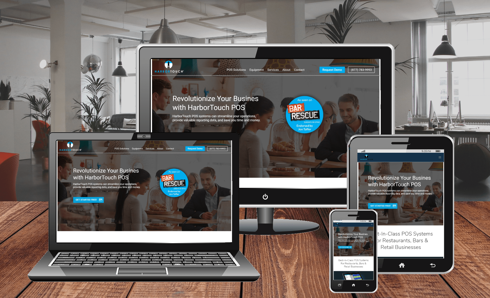 Website Design Portfolio Springfield Payments